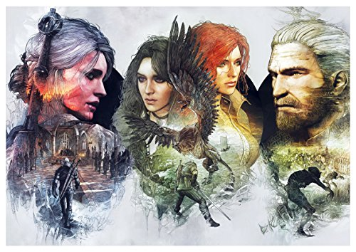 Instabuy Poster The Witcher III (J) - Characters - A3 (42x30 cm)