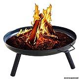 Feuerschale Ø58cm Eisenschale Feuerstelle Gartenfeuer Feuerkorb Pflanzschale