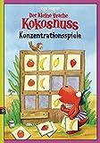 Der kleine Drache Kokosnuss - Konzentrationsspiele (Lernspaß- Rätselhefte, Band 4)