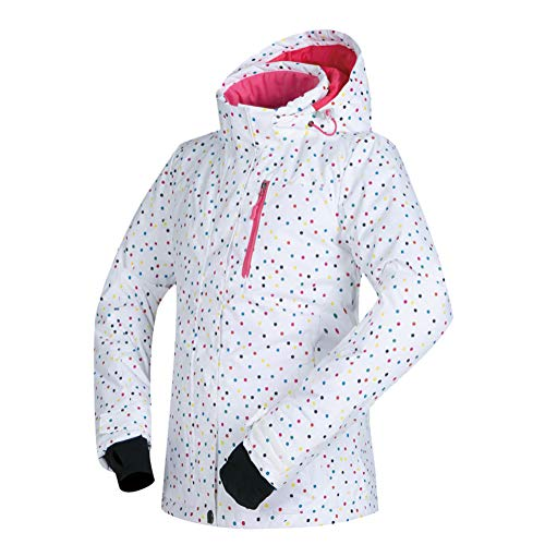 Hzikk giacca da sci donne antivento impermeabile traspirante addensare abbigliamento neve sci coat,a,m