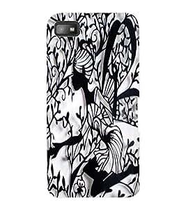 ColourCraft Creative Image Design Back Case Cover for BLACKBERRY Z10