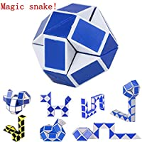 2018 Newest Cool Snake Magic Variety Popular Twist Kids Game Transformable Gift Puzzle ,Magic Cube Puzzles Educational Toy for Kids, for Girls and Boys