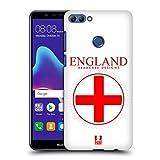 Head Case Designs Grossbritannische Fahne Fahnen Flicken Ruckseite Hülle für Huawei Y9 (2018)/Enjoy 8 Plus