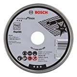 Bosch Professional Trennscheibe gerade Standard für Inox - Rapido WA 60 T BF, 115 mm, 10-er Pack, 2608603254