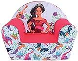 FUN HOUSE Disney Elena D'Avalor Fauteuil Club pour Enfant, Housse Polyester/Mousse Polyether, 52 x 33 x 42 cm