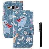 Samsung Galaxy A3 Hülle, Galaxy 2015 Leder Case, Toyym