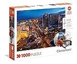 Clementoni - 39404 - Puzzle - Virtual Reality - Las Vegas - 1000 Pièces