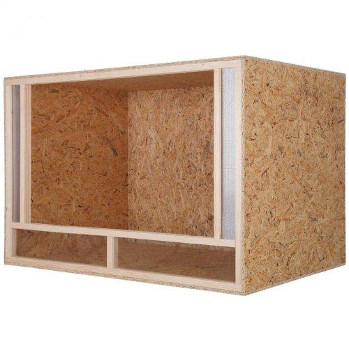 Holzterrarium mit Seitenbelüftung 120x80x80cm