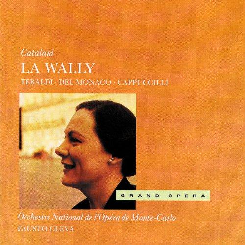Catalani-Tebaldi/Del Monaco-Cleva-la Wally