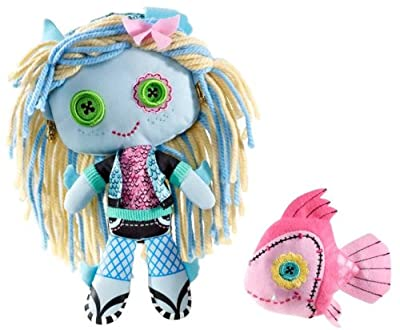 Monster High Friends Plush Doll - Lagoona Blue and Neptuna por Mattel