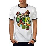 Route Voyage Aventure Sensationnel Van Men M T-shirt à sonnerie | Wellcoda