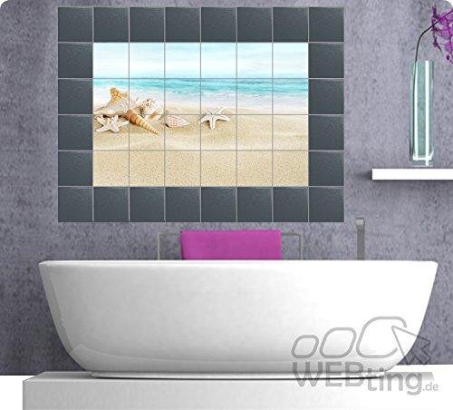 Piastrelle immagine Piastrelle Adesivo per Decorazione per piastrelle Adesivi per piastrelle Piastrelle Bagno e Cucina N.