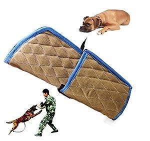 FACAIG formation des chiens de protection manchon bras mordre avec poignée en bois pour les jeunes Malinois chien de travail Formation Travail Formation K9 Rottweiler