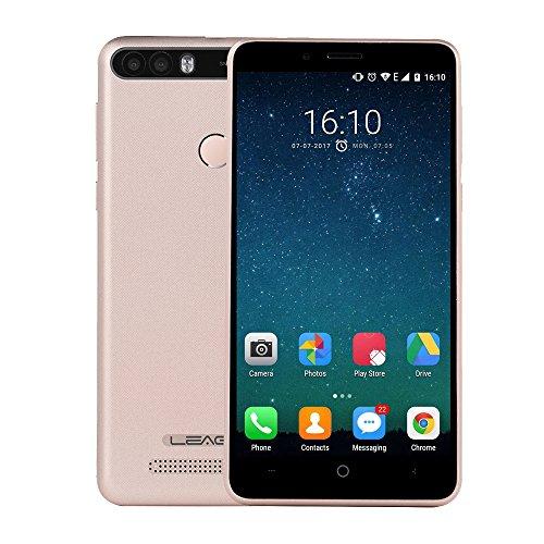 leagoo kiicaa Power 12,7cm Android 7.0Entsperrtes Smartphone 3G Network 2GB + 16GB 4000mAh Akku Dual-Rückseite Kameras Fingerabdrucksensor mtk6580a Quad Insides bis zu 1,3GHz Dual Sim