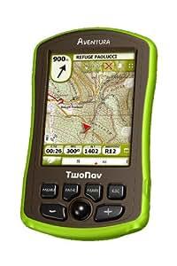 CompeGPS Outdoor GPS Twonav Aventura Dach Inkl. Einer Region Der Topo Deutschland, 002-6000500