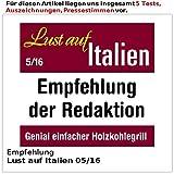 Rosenstein & Söhne Rauchfreier Holzkohle-Tischgrill - 6