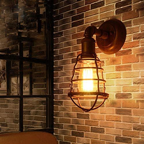 Lámpara pared industrial retro ático interior exterior