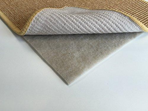 Premium Antirutschmatte Teppichunterlage Stop-It PLUS - Premiumqualität hergestellt in Deutschland - Beige - Für alle Untergrunde - Anti Rutsch Unterlage - Teppich Stop (0,80m x 1,50m)