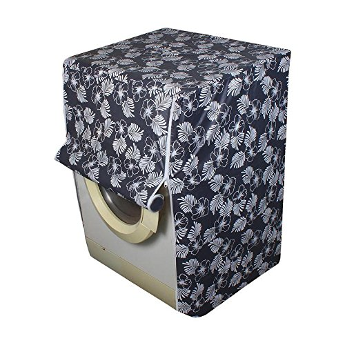 Glassiano Floral Grey Colored Washing Machine Cover for IFB Senorita Aqua SX 6.5Kg Fully-Automatic Front Loading Washing Machine  available at amazon for Rs.399