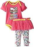 Hello Kitty Baby Girls 2pc T-Shirt and Legging Tutu Set