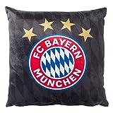 FC Bayern München Schwarz 40x40cm (one Size, schwarz)