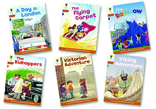 Oxford Reading Tree Biff, Chip and Kipper Level 8. Stories: Mixed Pack of 6