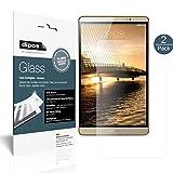 dipos I 2X Protection ecrán Mat Compatible avec Huawei Mediapad M2 8.0 Verre Souple Film Protecteur 9H