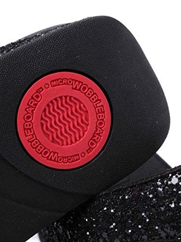 Glitterball Toe-Post - Black Black