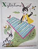 Illustration de Romain Simon : Xylophone (Mon grand alphabet)