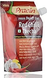 Pravin Red Chilli Thecha 100g Pouch