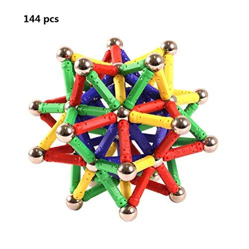 Blocs de construction magnétiques mini plastique tige...