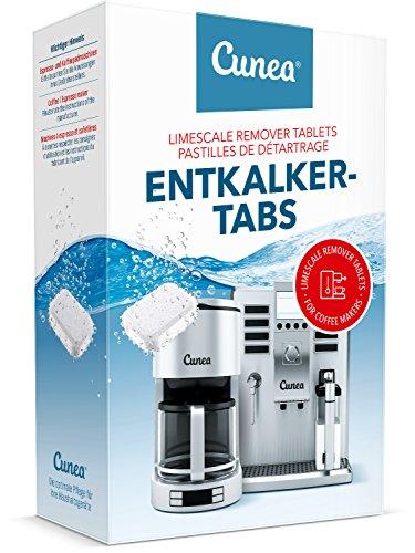 Cunea Entkalkertabs Entkalkertabs für Kaffeevollautomaten Kaffeemaschinen und Wasserkocher (180)