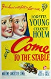 Come to the Stable Plakat Movie Poster (27 x 40 Inches - 69cm x 102cm) (1949)