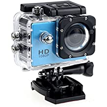Providethebest K72 2 pollici 1080P Sport fotocamera schermo all'aperto videocamera 30M impermeabile mini macchina fotografica di sport di DV HD Blu