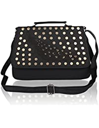 EDGEKART Stylish Shinning PU Leather Sling Bag For Women And Girls - B075CJHQ9N