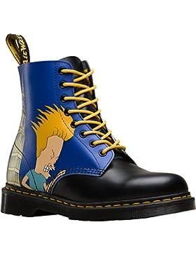 Dr Martens X Beavis & Butthead Pascal Boots (Blau)