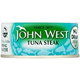John West Steak De Thon Dans L'Eau De Source Sans Drain (130G)