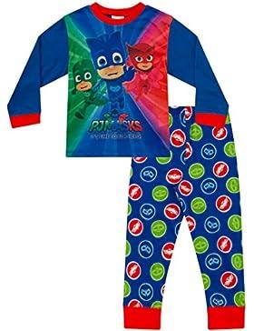 Pijama de PJ Masks para niños de 3 a 7 años