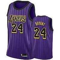 Baloncesto Jersey Lakers 24# Kobe Bryant Retro Baloncesto Jerseys de Verano Camisa de Ventilador Chaleco sin Mangas Ropa Deportiva Uniformes Deportivos Transpirables