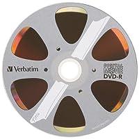 Verbatim 4.7GB 8x Digital Movie Recordable Disc DVD-R, 10-Disc Blister 96856