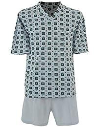 Toller Damen Schlafanzug Pyjama in Übergrößen Größen 48-62 2 Farben,mit Motiv
