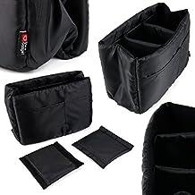 Séparateur de sac molletonné pour appareil photo et accessoires SLR / reflex Canon EOS Rebel T1i, T2i, T3, T3i, T4i et SX30 Par DURAGADGET