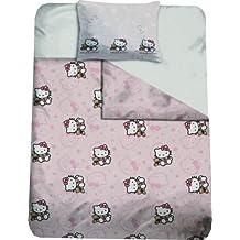 Hello Kitty-Juego de cama 100% algodón