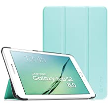 Fintie Samsung Galaxy Tab S2 8.0 Funda - Slim Fit Smart Funda Carcasa con Stand Función y Imán Incorporado para el Sueño/Estela para Samsung Galaxy Tab S2 8.0 pulgadas (Azul)