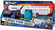 Zuru X Shot Excel Turbo Fire Foam Dart Blaster With 48 Darts 36270, multi color
