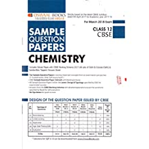 Oswaal CBSE Sample Question Papers for Class 12 Chemistry (Mar.2018 Exam)
