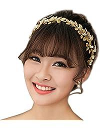 clocolor hojas tocados de cristales perlas para mujer accesorios de novia de boda joyera nupcial de