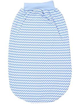 TupTam Unisex Baby Strampelsack breiter Bund Jersey