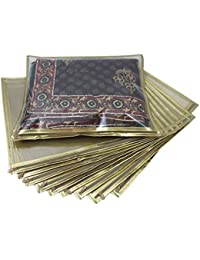 Ridhi & Sidhi Golden Saari Covers Pack Of 10.