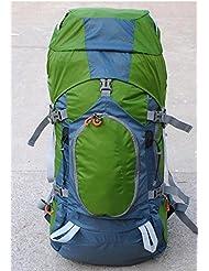 bolso que sube al aire libre al aire libre del alpinismo mochila del bolso del bolso de m¨²ltiples funciones , green